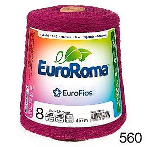 BARBANTE FIO 8 COR 560 MAGENTA EUROROMA 457 METROS