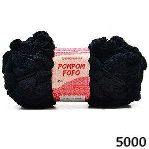 FIO POMPOM FOFO 45 M CIRCULO COR 5000