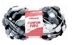 FIO POMPOM FOFO 45 M CIRCULO COR 5015