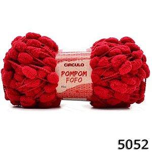 FIO POMPOM FOFO 45 M CIRCULO COR 5052