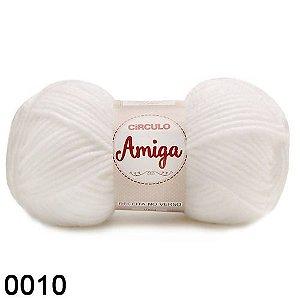 FIO AMIGA 100 GR COR 0010 BRANCA