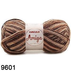 FIO AMIGA 100 GR COR 9601 MESCLA SEPIA BEGE
