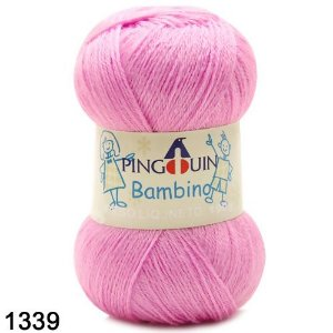 FIO BAMBINO PINGUIM 100 G COR 1339