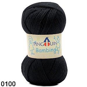 FIO BAMBINO PINGUIM 100 G COR 100