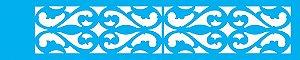 ESTENCIL 6X30 ARABESCO MEDIEVAL OPA802