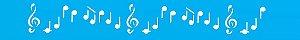 ESTENCIL 4X30 NOTAS MUSICAIS OPA230