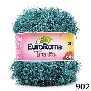 EUROROMA TRENTO 200 GR FIO 6 COR 902 AZUL PETROLEO