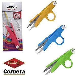 TESOURA ARREMATE TECELAO CORNETA 2482414 CORES SORTIDA