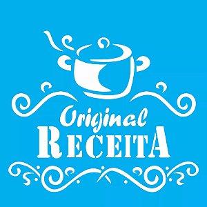 ESTENCIL 14X14 RECEITA OPA 998