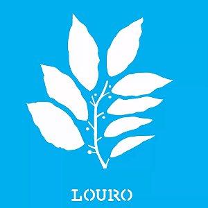 ESTENCIL 14X14 TEMPERO LOURO OPA2015