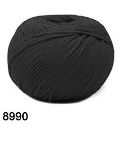 FIO AMIGURUMI SOFT 150 MTS COR 8990 PRETO