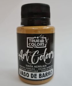 TINTA ACRILICA ARTCOLORS 60 ML VASO DE BARRO