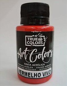 TINTA ACRILICA ARTCOLORS 60 ML VERMELHO VIVO