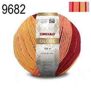 FIO GLOBE 200 GR COR 9682 LISTRAS ROMANCE