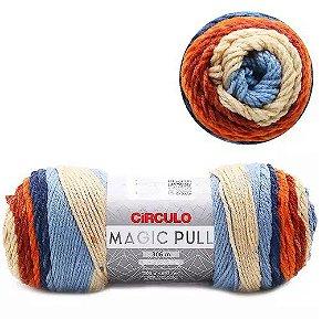 FIO MAGIC PULL 306 MTS CIRCULO COR 9452 MESC PALMIER