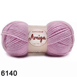 FIO AMIGA 100 GR COR 6140 LILAS CANDY