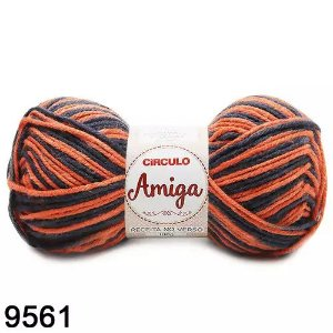 FIO AMIGA 100 GR COR 9561 MESCLA TOPAZIO