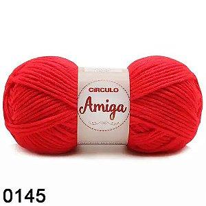 FIO AMIGA 100 GR COR 0145 VERMELHO CHAMA