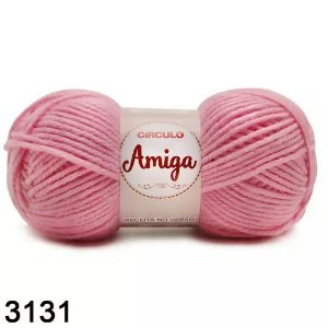 FIO AMIGA 100 GR COR 3131 ROSA CANDY