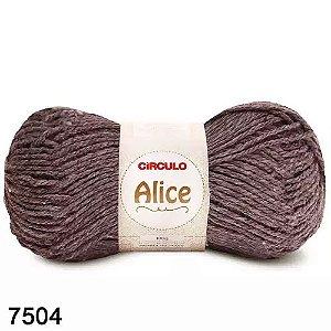 LA ALICE CIRCULO COR 7504 MOGNO 100G