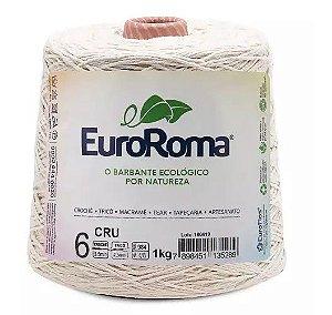 BARBANTE EUROROMA FIO 6 COR 100 CRU 1 KG 1016 MTS