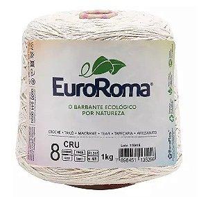 BARBANTE EUROROMA FIO 8 COR 100 CRU 1 KG 762 MTS