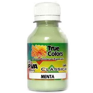 Tinta PVA Fosca True Colors Menta 100 ml