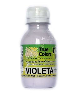 Tinta PVA Fosca True Colors Baby Violeta 100 ml