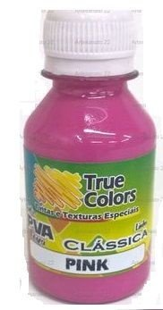 Tinta PVA Fosca True Colors Pink 100 ml