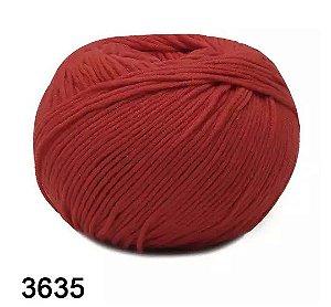 FIO AMIGURUMI SOFT 150 MTS COR 3635 PAIXAO