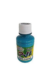 TINTA PVA FOSCO TRUE COLORS AZUL CARIBE 100 ML