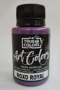 TINTA ACRILICA ARTCOLORS 60 ML ROXO ROYAL
