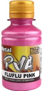 TINTA PVA METAL TRUE COLORS FLUFLU PINK 100 ML