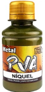 TINTA PVA METAL TRUE COLORS NIQUEL METAL 100 ML