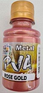 TINTA PVA METAL TRUE COLORS ROSE GOLD 100 ML