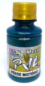 TINTA PVA METAL TRUE COLORS VERDE MISTERIO 100 ML