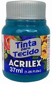 TINTA PARA TECIDO ACRILEX ACQUA MARINE 37 ML