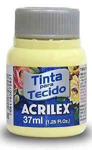 TINTA PARA TECIDO ACRILEX AMARELO BEBE 37 ML