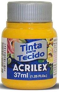 TINTA PARA TECIDO ACRILEX AMARELO CADMIO 37 ML