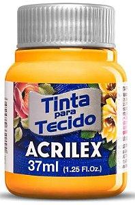 TINTA PARA TECIDO ACRILEX AMARELO GEMA 37 ML