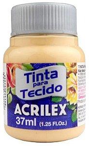 TINTA PARA TECIDO ACRILEX AMARELO PELE 37 ML