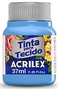 TINTA PARA TECIDO ACRILEX AZUL CARIBE 37 ML
