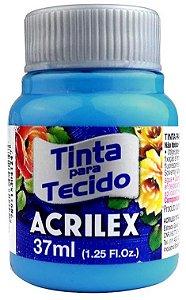 TINTA PARA TECIDO ACRILEX AZUL CELESTE 37 ML
