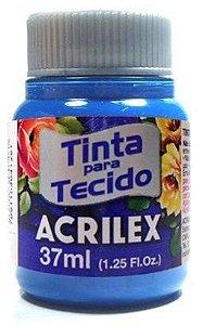 TINTA PARA TECIDO ACRILEX AZUL CERULEO 37 ML