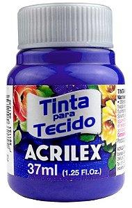 TINTA PARA TECIDO ACRILEX AZUL COBALTO 37 ML