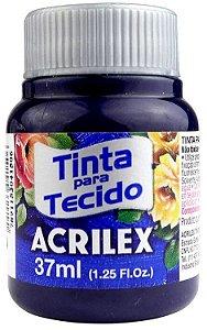 TINTA PARA TECIDO ACRILEX AZUL MARINHO 37 ML