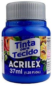 TINTA PARA TECIDO ACRILEX AZUL TURQUESA 37 ML