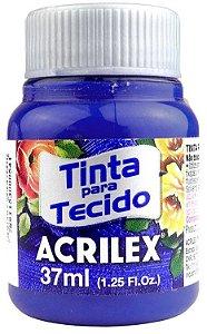 TINTA PARA TECIDO ACRILEX AZUL ULTRAMAR 37 ML