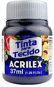 TINTA PARA TECIDO ACRILEX CINZA CHUMBO 37 ML