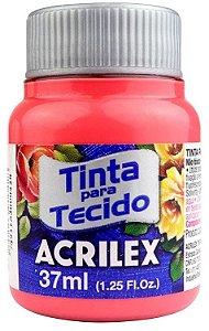 TINTA PARA TECIDO ACRILEX CORAL 37 ML
